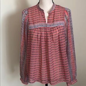 Lucky Brand Long Sleeve Blouse Size S